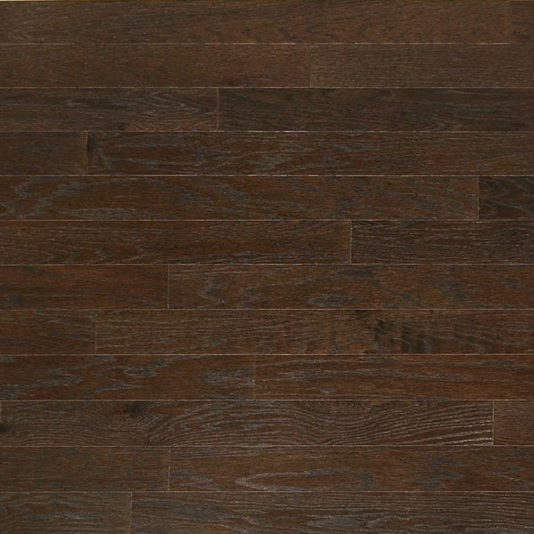 Heritage Mill Solid Brushed Oak Graphite Textured