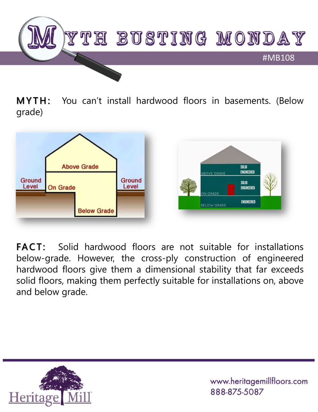 Myth You Can T Install Hardwood Floors In Basements