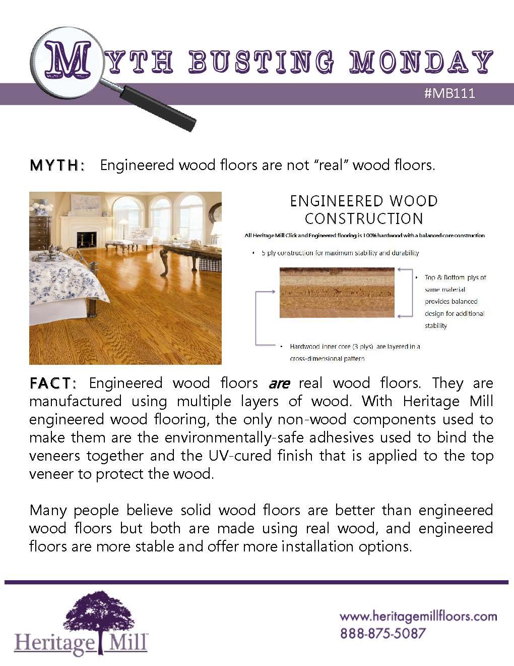 Myth Engineered Wood Floors Are Not Real Wood Floors